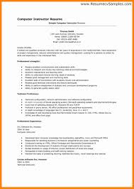 Resume Template Open Office Resume Computer Skills Proficient Ekja