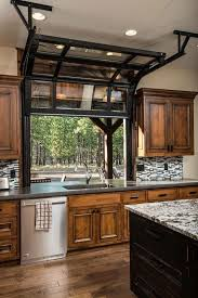 Kitchen Garage Door Home Interior Design - Garage interior design ideas
