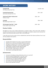 Deli Job Description For Resume by Architects Resume Template 066