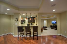 basement kitchens ideas painting basement floor painting finishing and covering ideas
