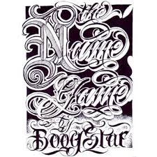 100 tattoo fonts gangster style tattoo font letters
