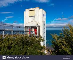 the beach lift at shanklin on the south east coast of the isle of