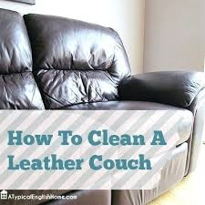 Best Way To Clean White Leather Sofa How To Clean White Leather Simplir Me