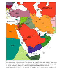 middle east map ppt bible maps of world regions religious church studies printable