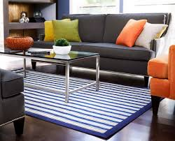 Blue Striped Area Rugs White And Blue Area Rugs Home Design Ideas