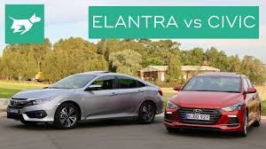 honda civic or hyundai elantra 2017 hyundai elantra sport vs 2017 honda civic turbo comparison