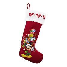 mickey mouse christmas stocking christmas tree shops andthat