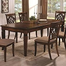 amazon com steve silver company mango dining table with 18