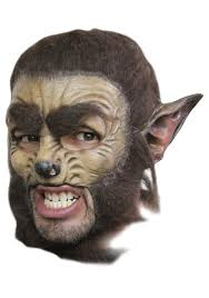 halloween baby face mask werewolf costumes kids scary werewolf costume