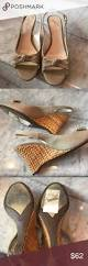 anne klein wedge size 8 6 gently used anne klein shoes wedges