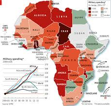 Map Of Sub Saharan Africa Arms And The African