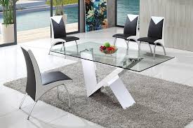 Designer Glass Dining Tables Modern Glass Dining Room Tables 17 Best 1000 Ideas About Glass