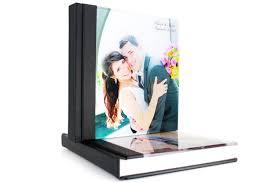 Custom Wedding Photo Albums Custom Wedding Photo Album 12x12 Acrylic Cover Wedding Album