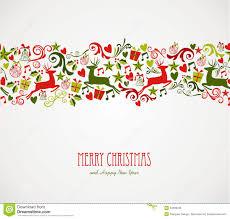 merry decorations elements border royalty free stock