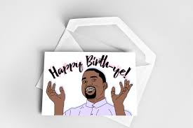 kanye birthday card happy birthday greeting card kanye west birthday card happy