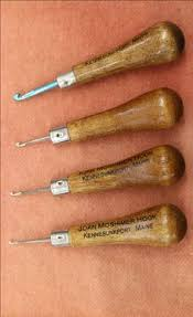Antique Rug Hooking Tools These Antique Rug Hooks Are Part Of The Collection Of Mildred