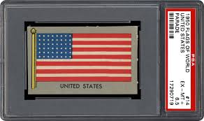 Flag Of The World Non Sports Cards 1950 Flags Of World Parade Psa Cardfacts