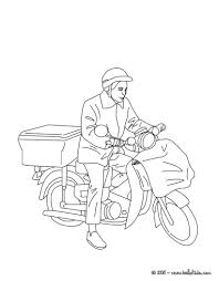 coloring page for van postmang pages pat colouring online van page unsurpassed community