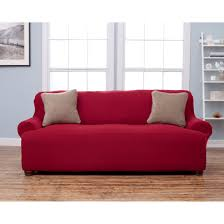 Leather Sofa Slipcover by 3 Seat T Cushion Sofa Slipcover Best Home Furniture Decoration