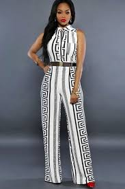 white sleeveless jumpsuit white graphic print button up front pocket sleeveless jumpsuit