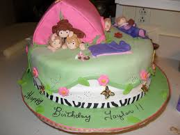 girls camping cakecentral com