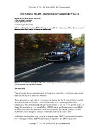 Bmw X5 90 000 Mile Service - old maintenance schedule manual transmission motor oil