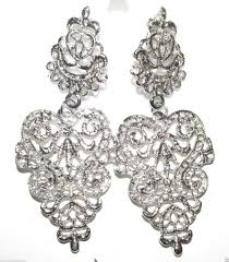 bridal chandelier earrings cheap vintage chandelier earrings bridal find vintage chandelier