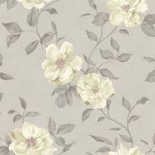 grandeco chloe grey floral mica wallpaper wallpaper floral and gray