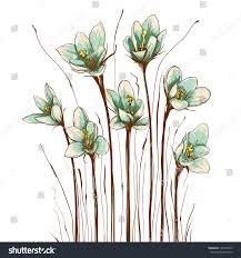 Decorative Flowers by Vintage Flowers Composition Decorative Flowers Background Stock