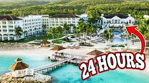 luxury 24 hour overnight challenge in a 5 star hotel resort
