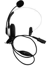 amazon com voistek corded mono monaural call center telephone rj