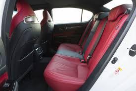 lexus rc f red interior 2016 lexus gs f first drive slashgear
