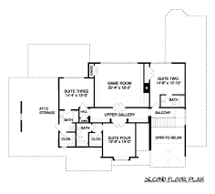 Four Square House Plans Craftsman Style House Plan 4 Beds 4 50 Baths 4300 Sq Ft Plan