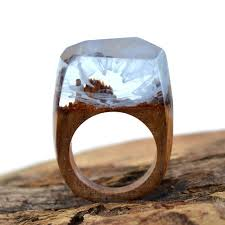 wood engagement rings aliexpress buy handmade mist wood engagement ring wooden