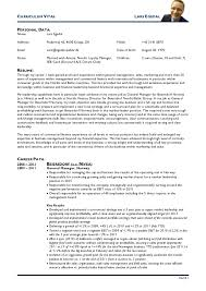 undergraduate curriculum vitae pdf italiano gallery of resume cv american resumes cv an exle of a