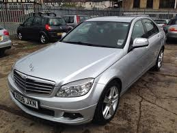 used mercedes c class for sale in uk used mercedes 2008 diesel class c200 cdi se saloon silver