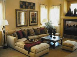 Living Room Window Treatments For Large Windows - living room design with fireplace and large windows image of