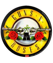 pegatina guns n roses logo redondo house of rock