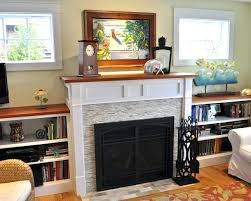 stone work around fireplace stacked interior design wall tile