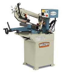 baileigh bs 210m hydraulic horizontal band saw 110v 1hp motor 3