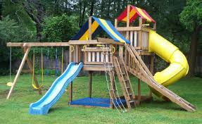 swing set plans to build wooden swing sets