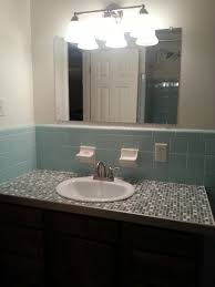 tile glass tile bathroom countertop decorating ideas unique to