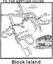 Block Island Map B I Timeshare Info