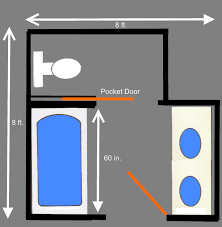 How To Do Laundry In The Bathtub Visual Guide To 15 Bathroom Floor Plans Bathroom Floor Plans