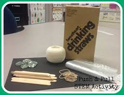 push and pull stem activity for first grade stem activities