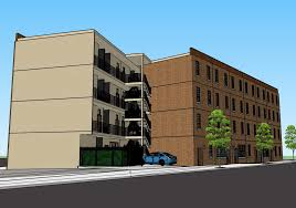 kensington philadelphia kensington microapartment proposal shows how clarke u0027s parking