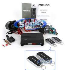 python 872 2 way vehicle security car alarm u0026 remote start system