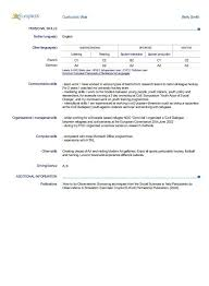 resume additional information how to write a resume skills