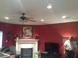 led lighting recessed lighting how close to wall recessed led