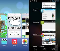 android multitasking electronic ios 7 vs android 4 2 2